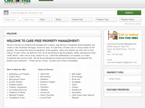 Care Free Property Management