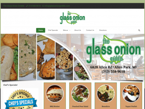 Glass Onion Griddle
