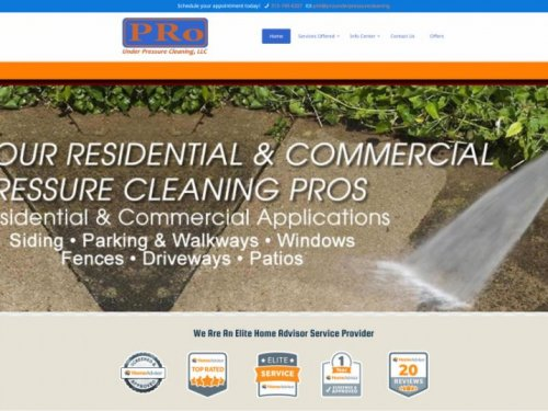Pro Under Pressue Cleaning