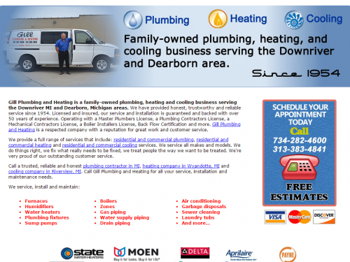 Gill Plumbing and Heating